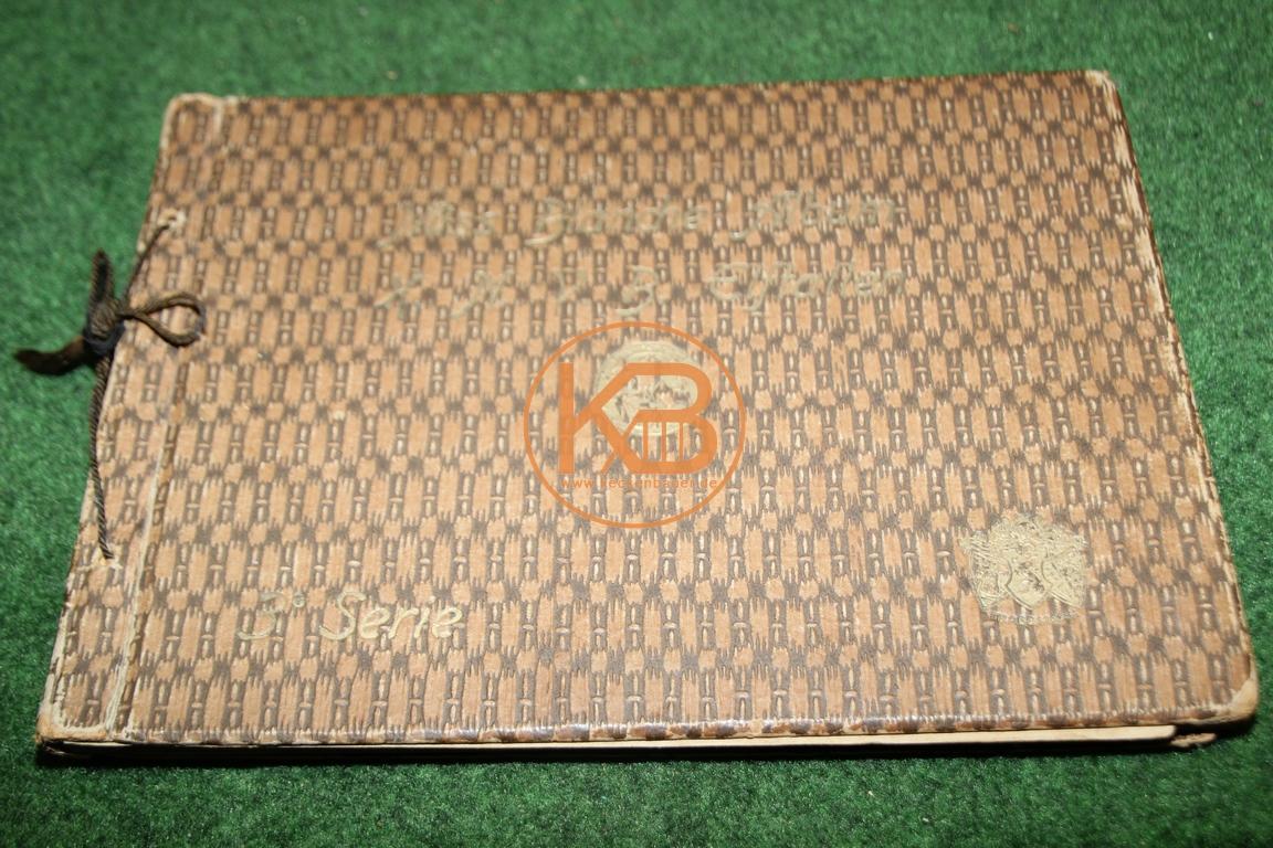 MIss Blanche Album K.N.V.B. Elftallen 3´Serie 1930-1931.