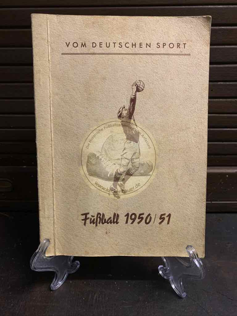 Vom Deutschen Sport. Band 3: Fußball 1950/51.