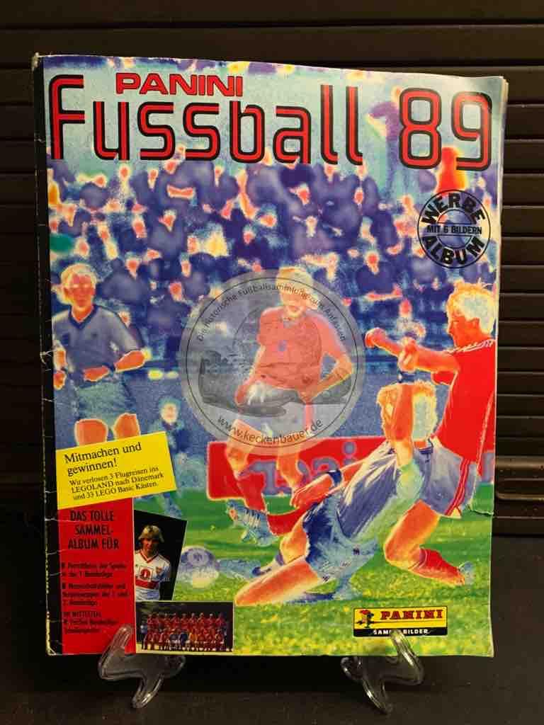 Panini Fussball Album 89