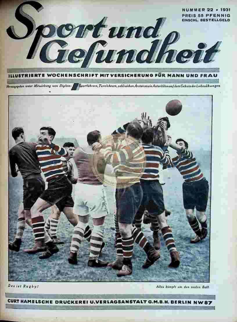 1931 Sport und Gesundheit Nr.22