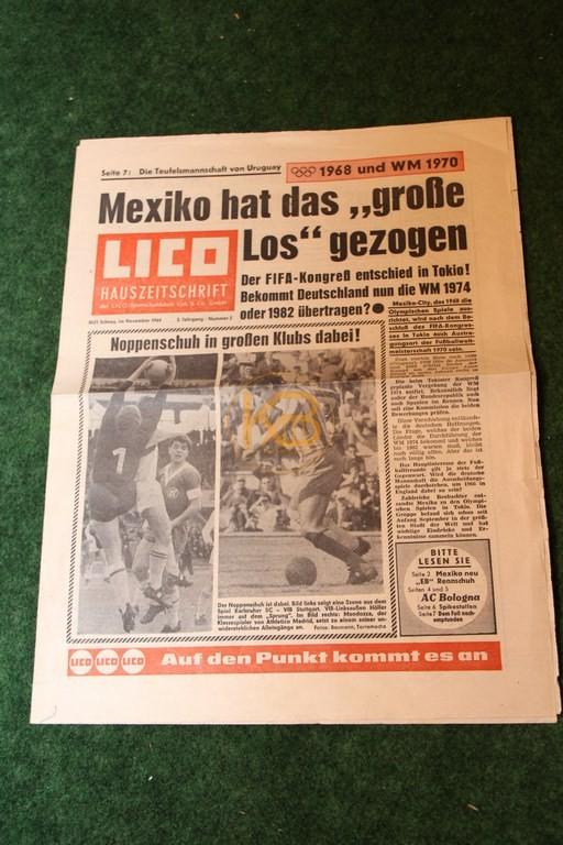 Die LICO Hauszeitschrift aus dem November 1964.