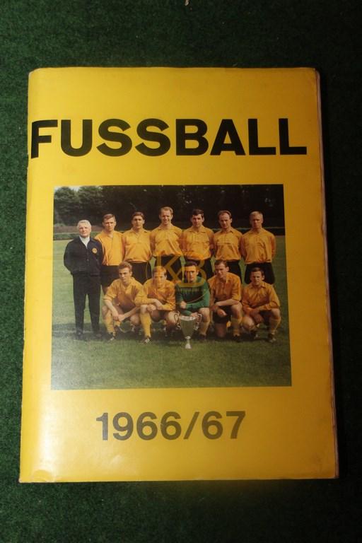 Sammelalbum Bergmann Verlag Fußball 1966/67