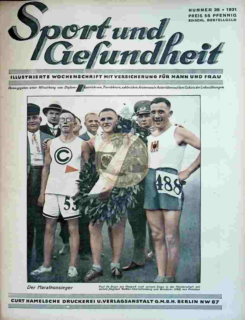 1931 Sport und Gesundheit Nr.38