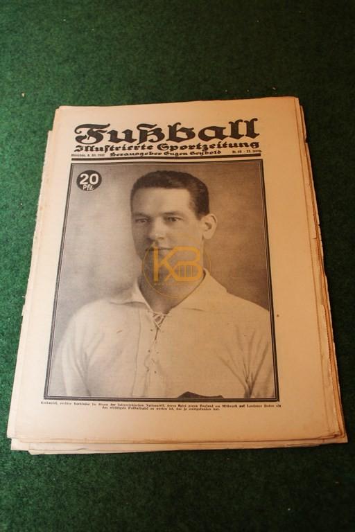 Fußball aus dem Zeitraum 06.12.1932 - 28.02.1939 6 Ausgaben