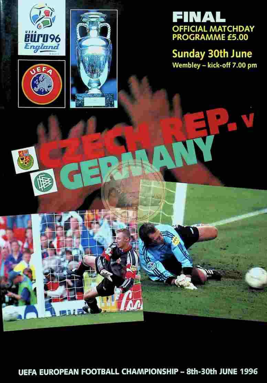 1996 Juni 30. Programm Tschechien Deutschland
