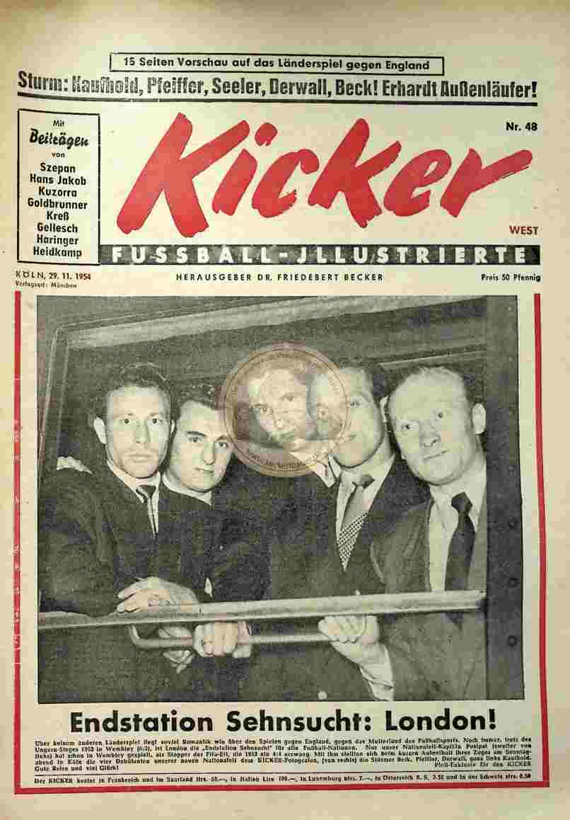 1954 November 29. Kicker Nr.48