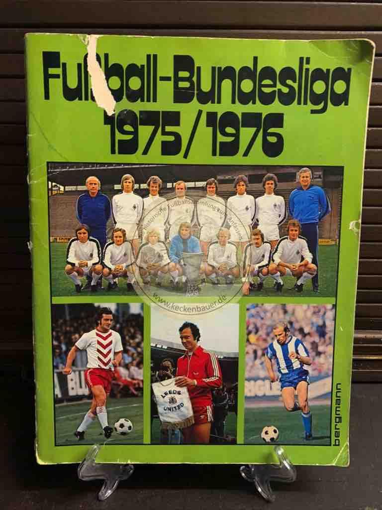 Sammelalbum Bergmann Fußball 1975/76