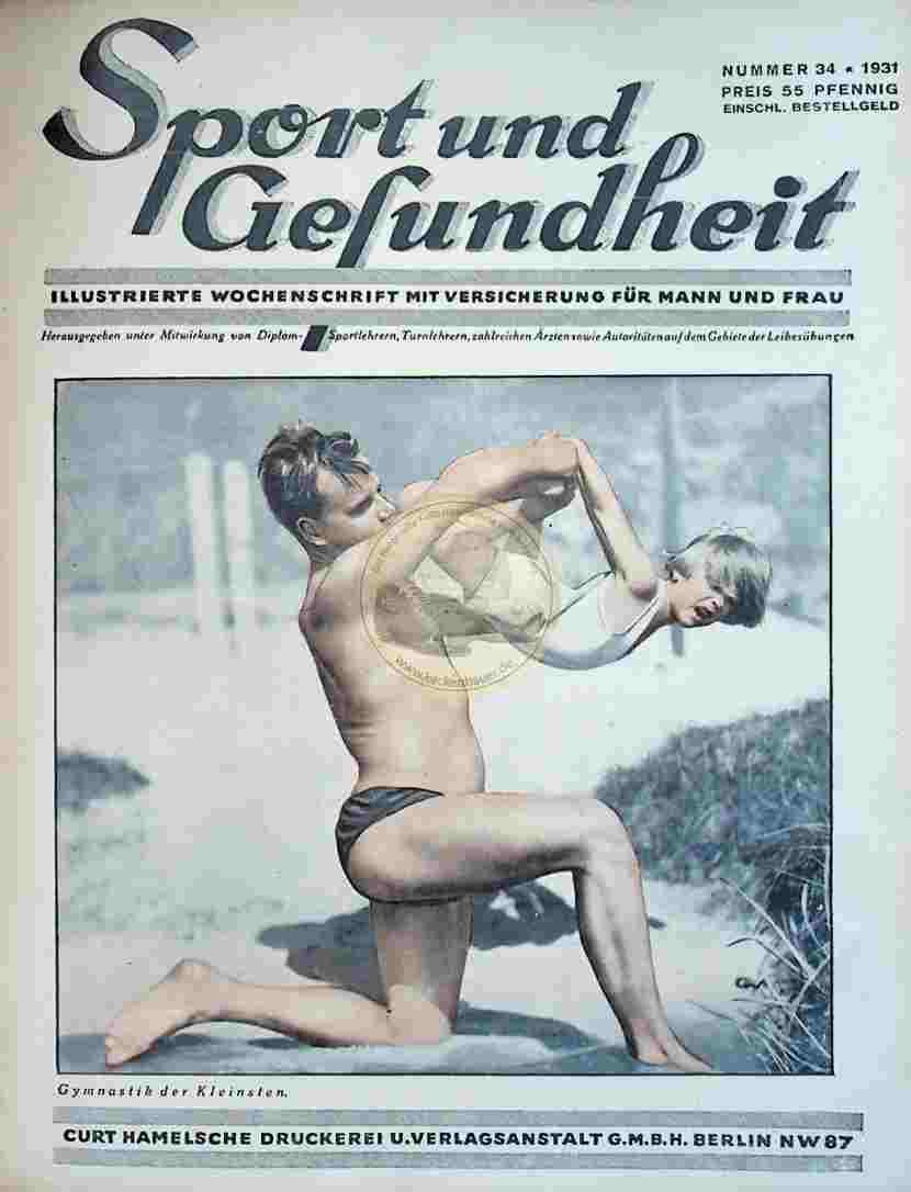 1931 Sport und Gesundheit Nr.34