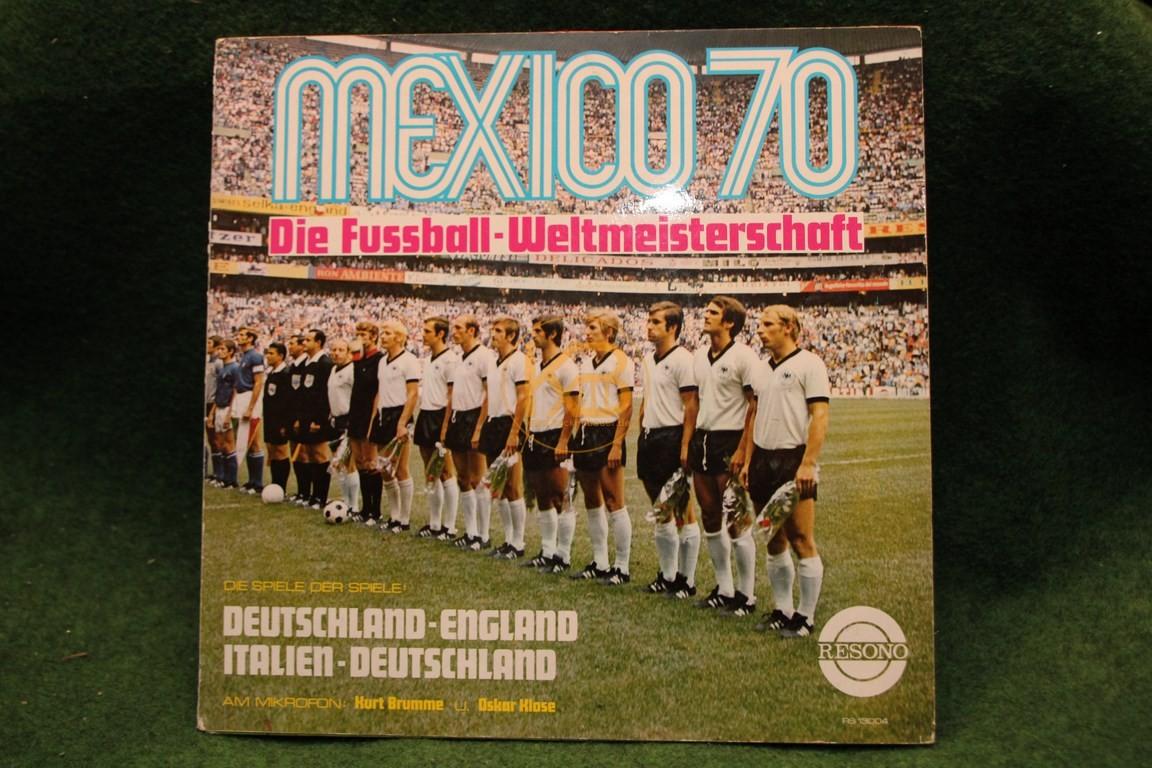 Platte Mexico 70 Die Fußball-Weltmeisterschaft