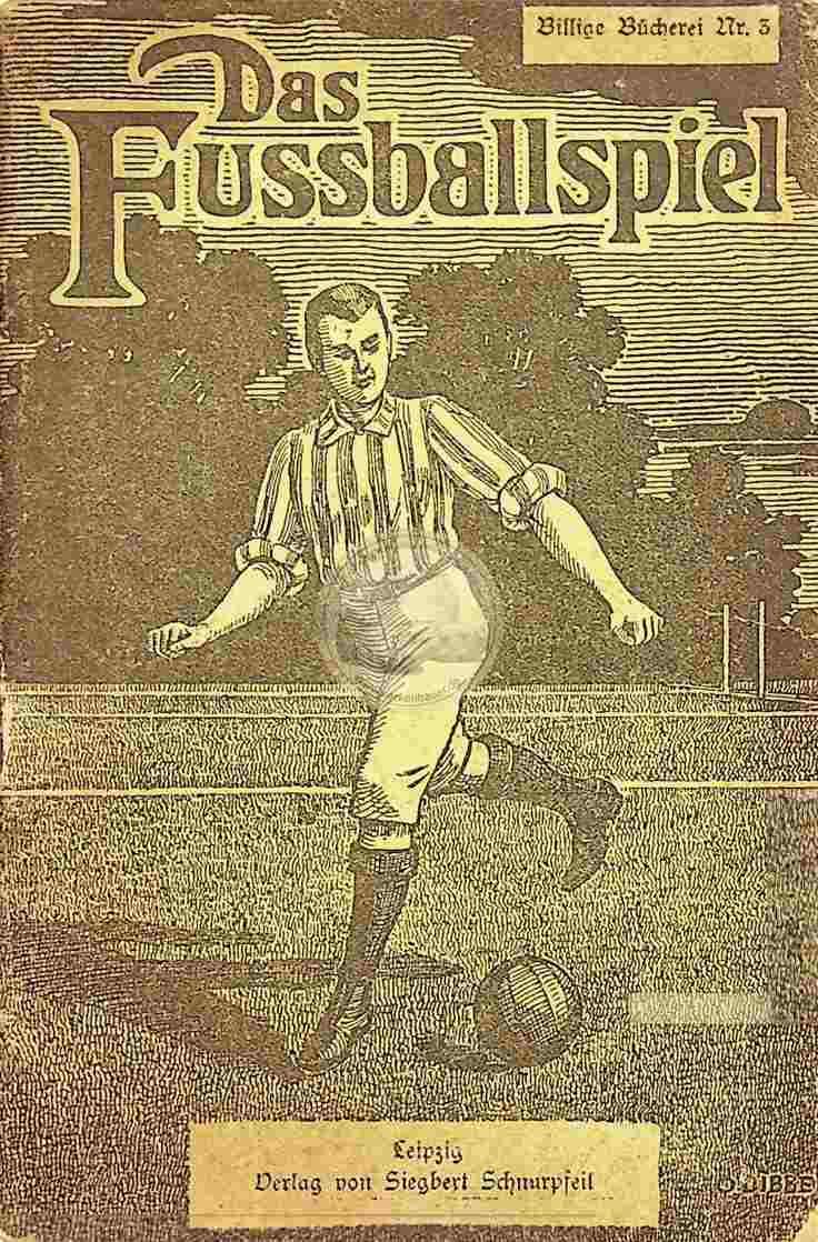 1922 Das Fußballspiel von S. Facius
