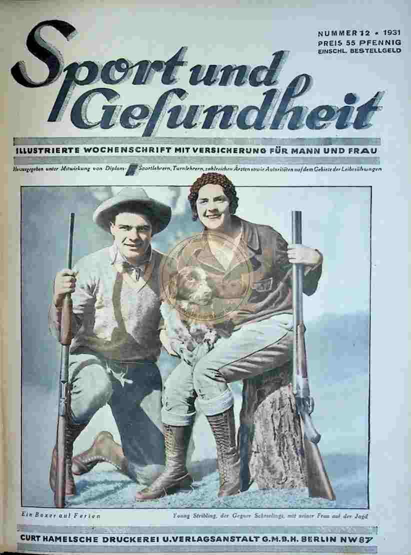 1931 Sport und Gesundheit Nr.12