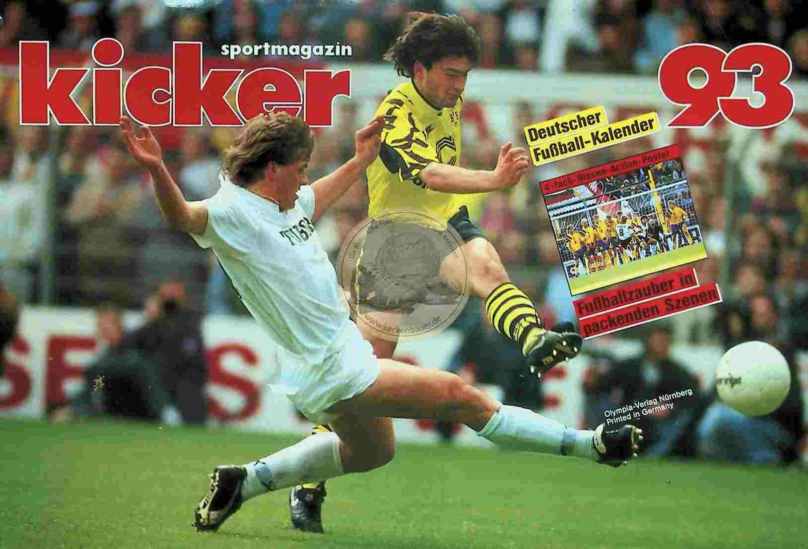 1993 Kicker Kalender