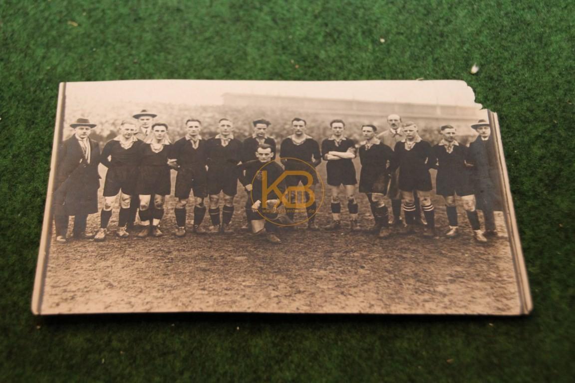 Foto der Dresdner Stadtmannschaft vermutlich Anfang der 40er Jahre.