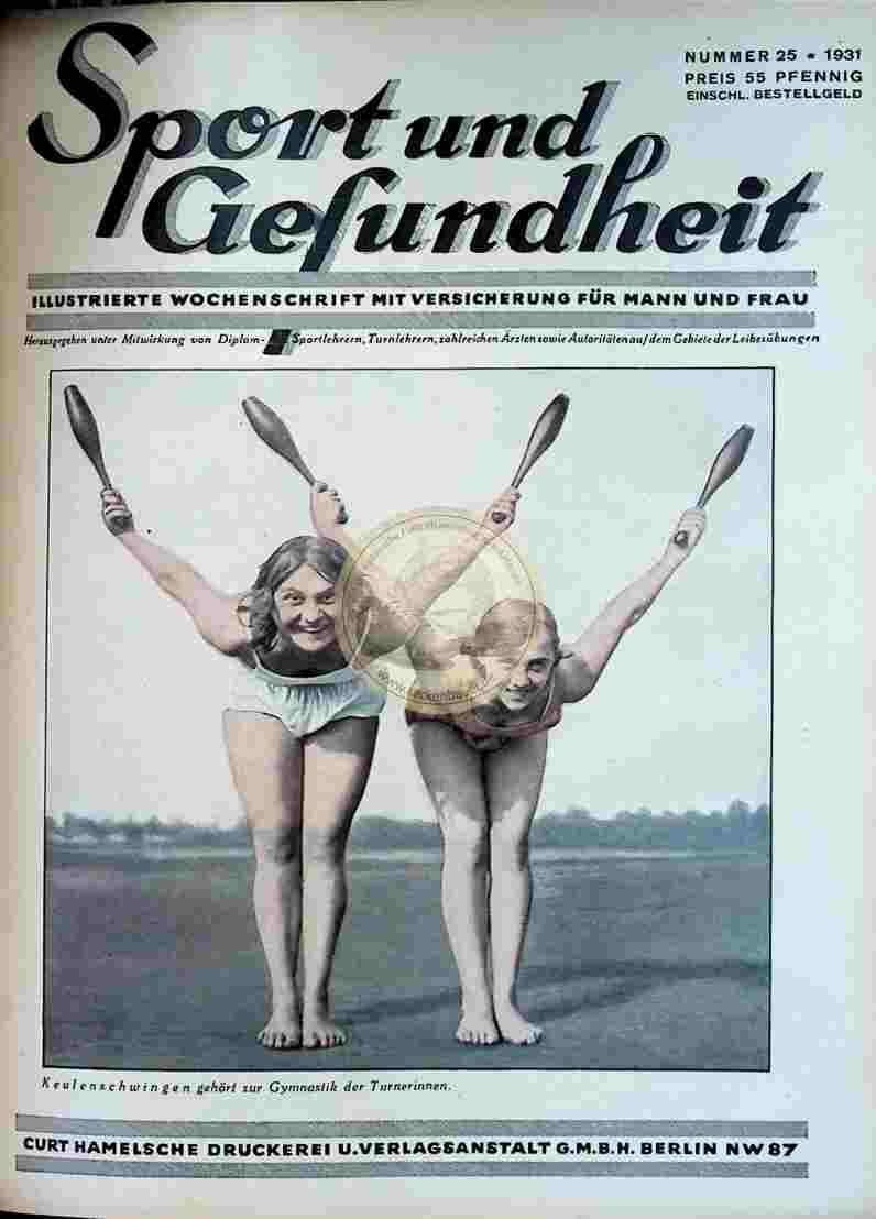1931 Sport und Gesundheit Nr.25