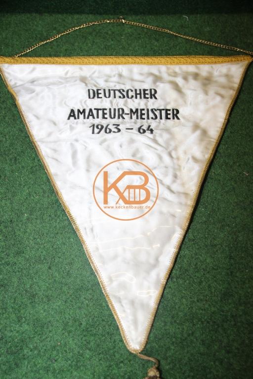 Originaler Spielerwimpel von Hannover 96 aus der Saison 1964/65 2/2