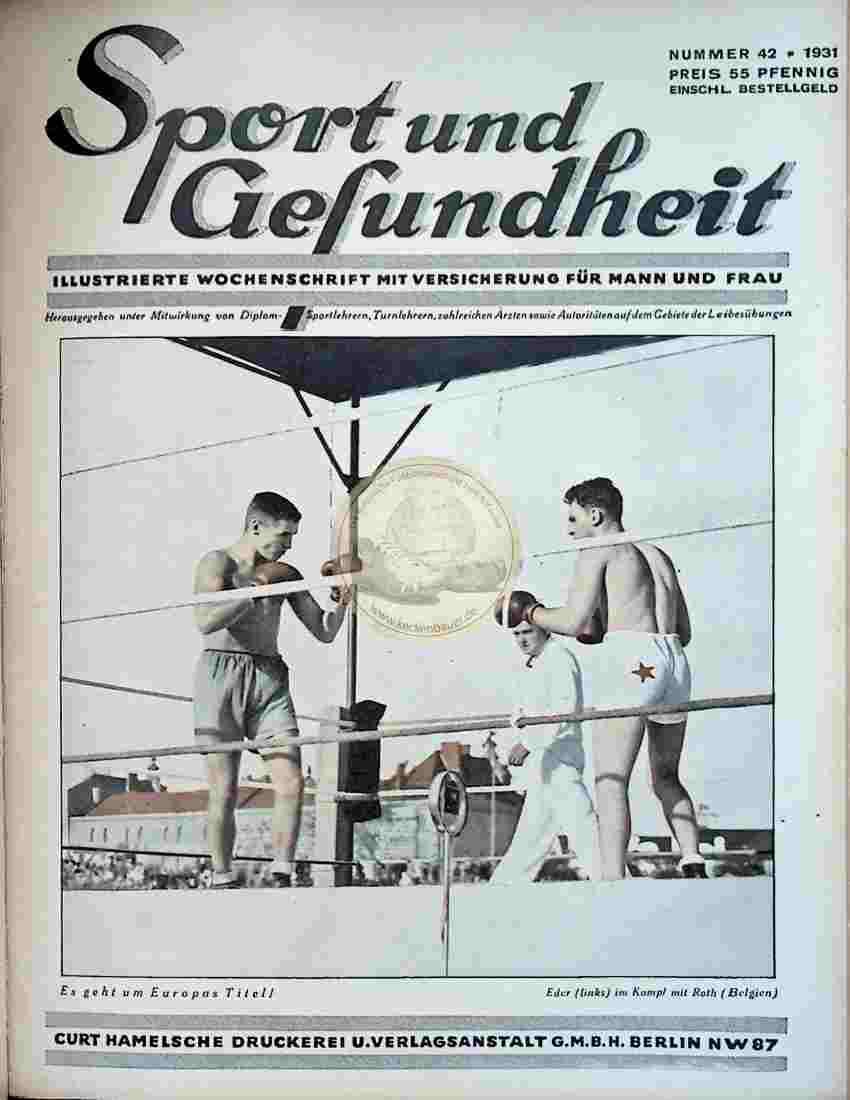 1931 Sport und Gesundheit Nr.42