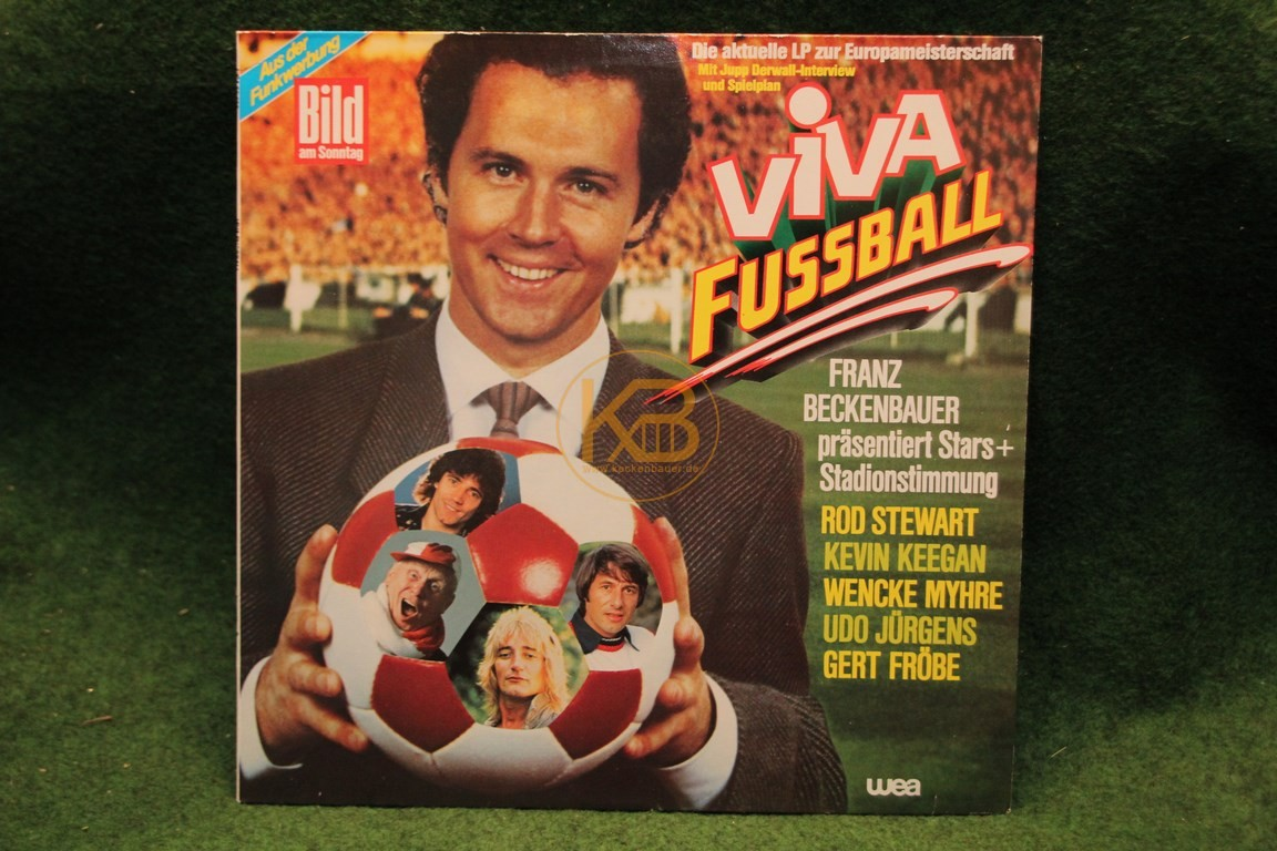 Platte Viva Fußball von Bild am Sonntag