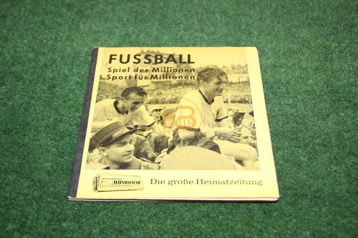 Freie Presse Die große Heimatzeitung Fußball Spiel der Millionen Sport für Millionen Komplett aus dem Jahr 1962