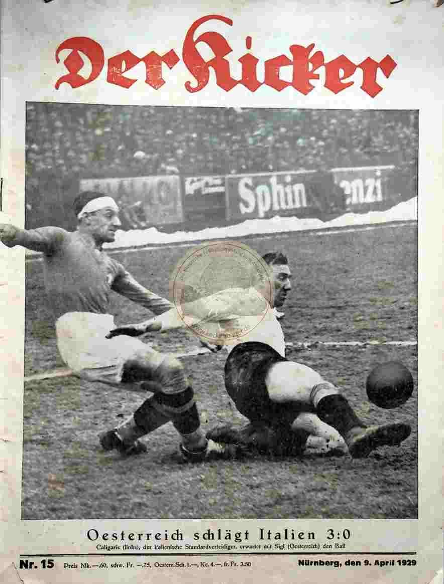 1929 April 09. Kicker Nr. 15
