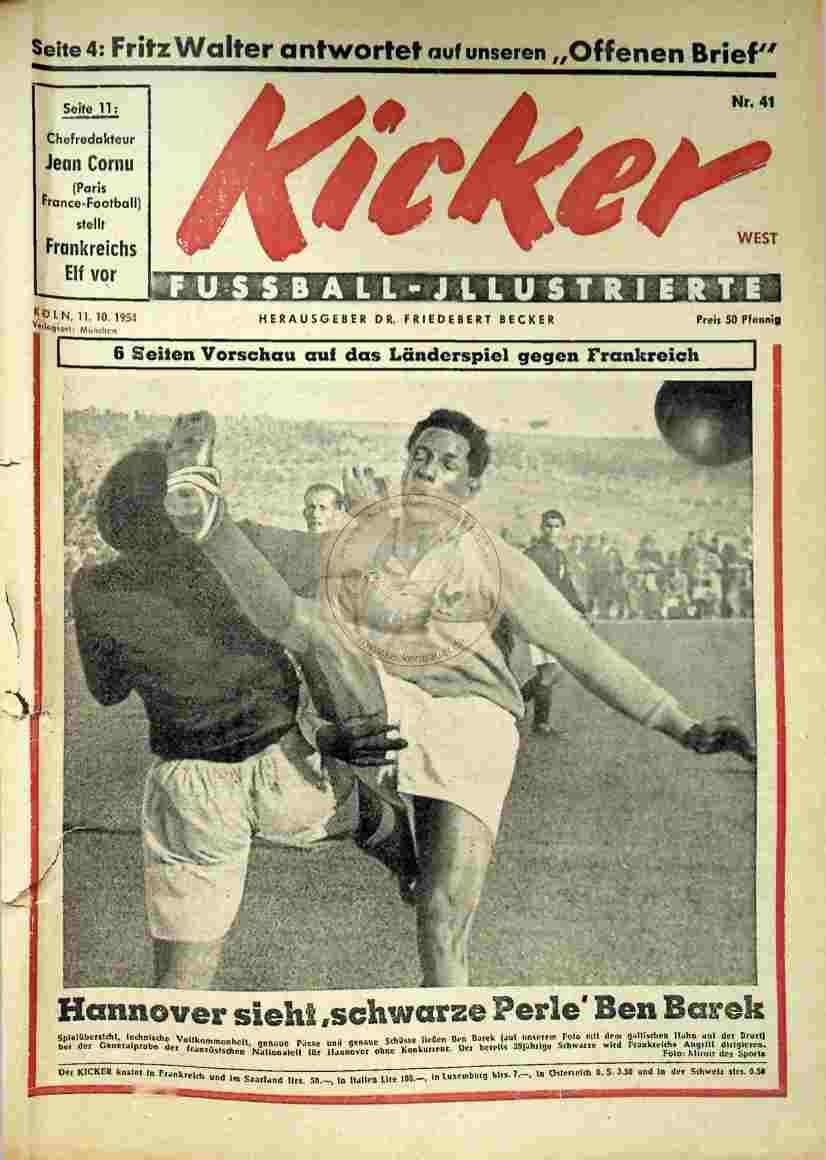 1954 Oktober 11. Kicker Nr.41