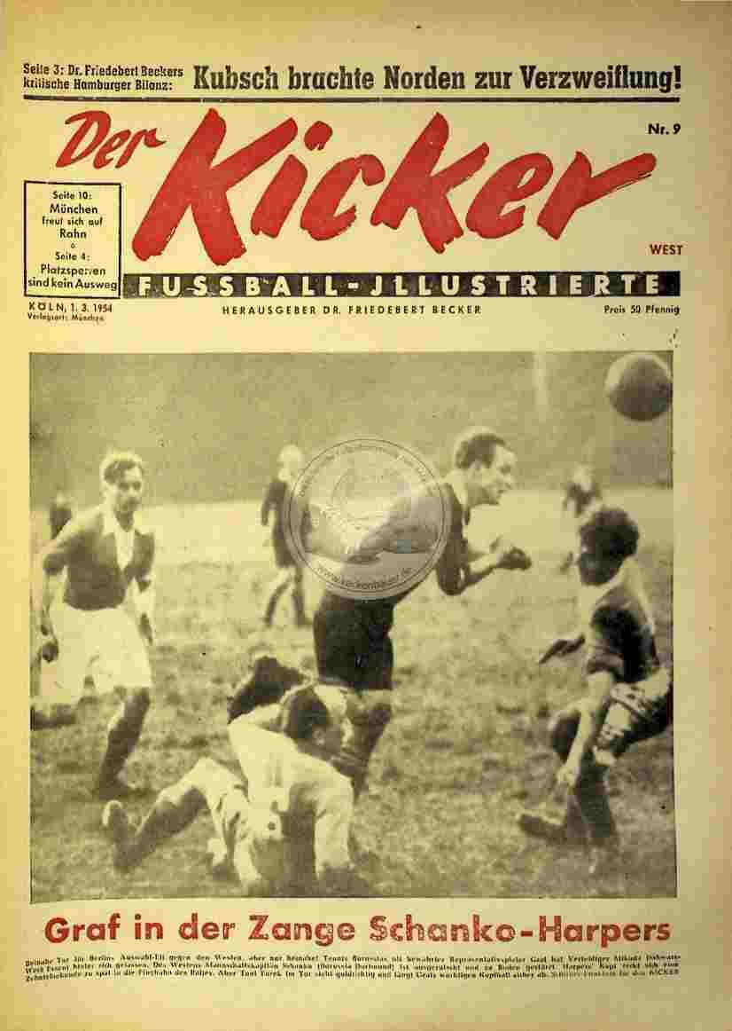 1954 März 1. Kicker Nr.9