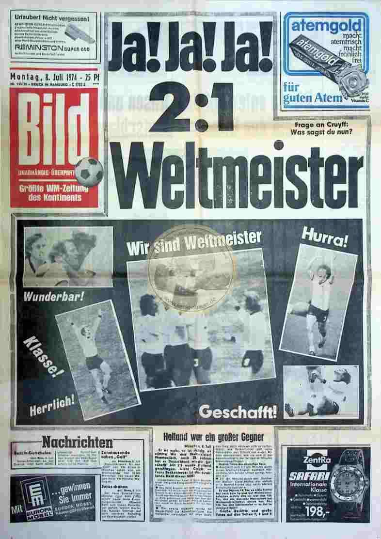 1974 Juli 8. Bildzeitung