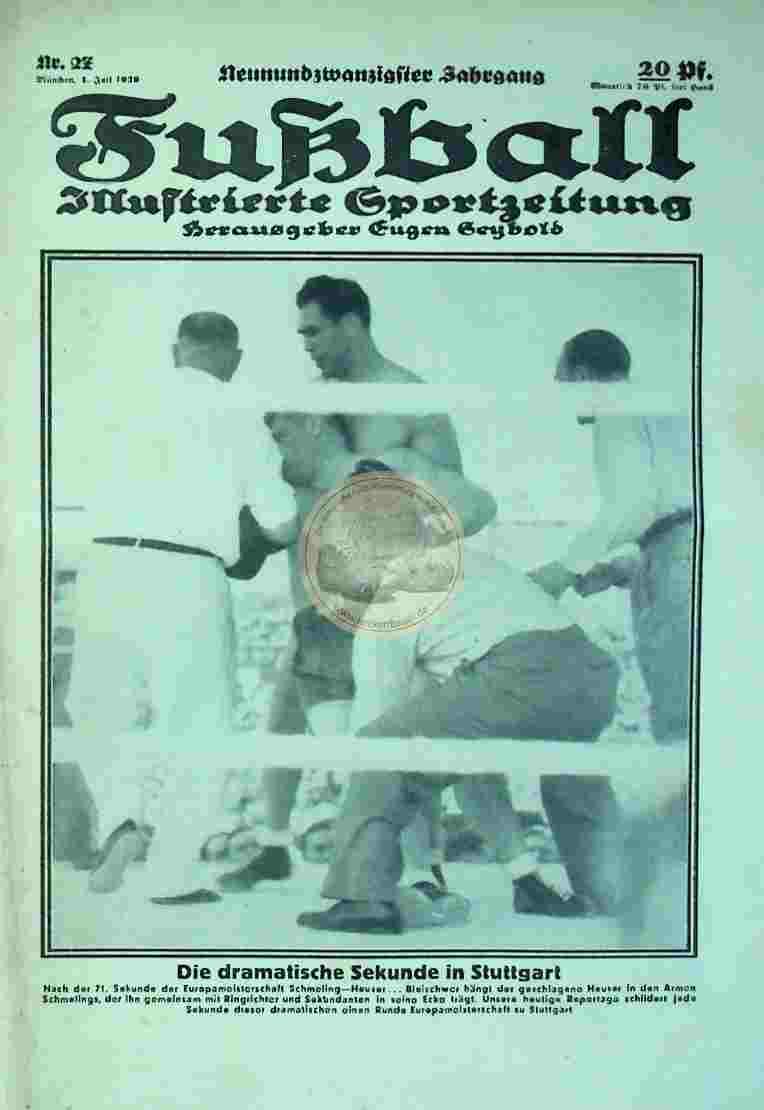 1939 Juli 4. Fußball Nr. 27