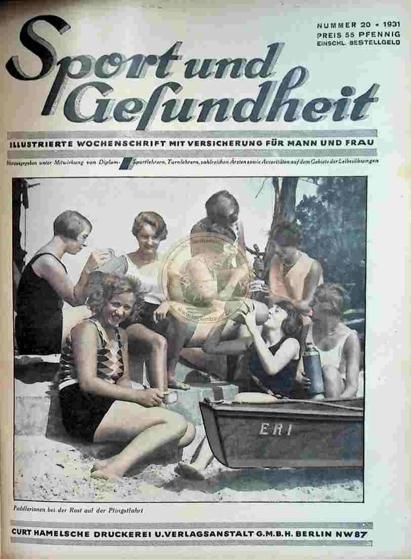 1931 Sport und Gesundheit Nr.20