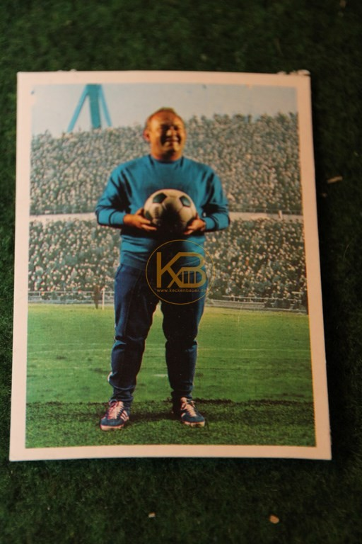 Bergmann Sammelbild von Zlatko Cajkovski  Hannover 96 Saison 68/69.