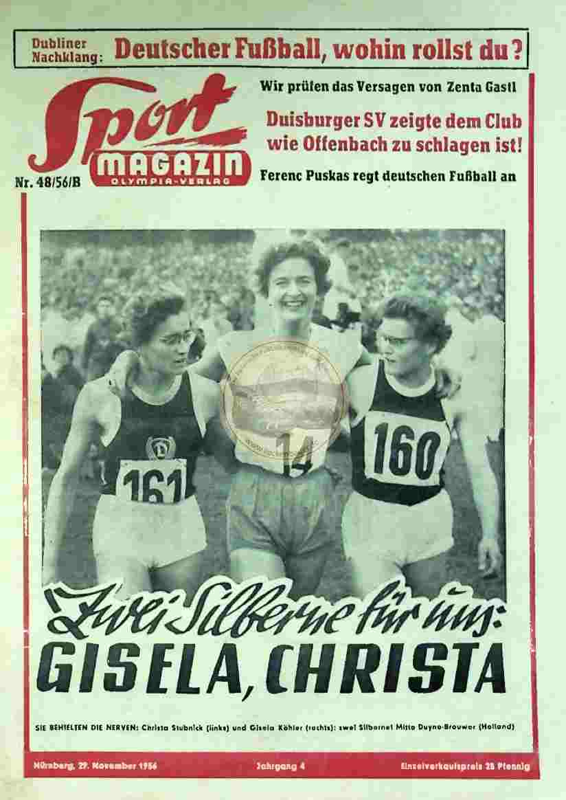 1956 November 29. Sport Magazin Nr.48