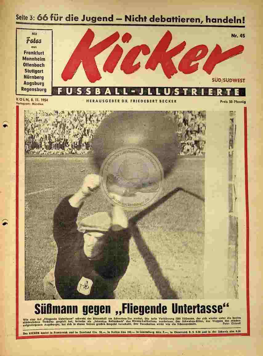 1954 November 8. Kicker Nr.45