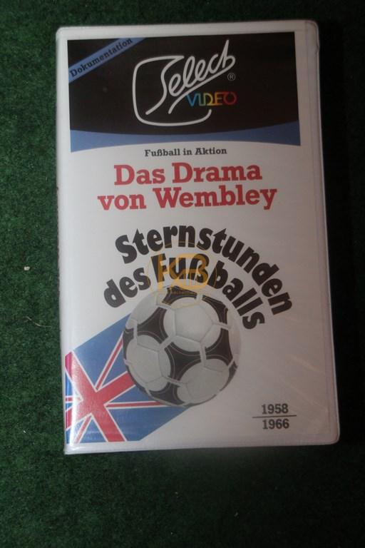 VHS Sternstunden des Fußballs Das Drama von Wembley
