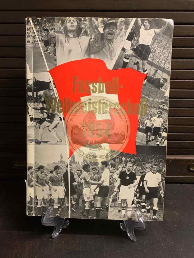 Sammelalbum Fußball Weltmeisterschaft 1954 natürlich vollständig.