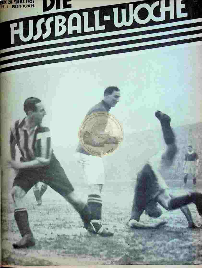 1927 März 28. Fussball-Woche Nr. 25