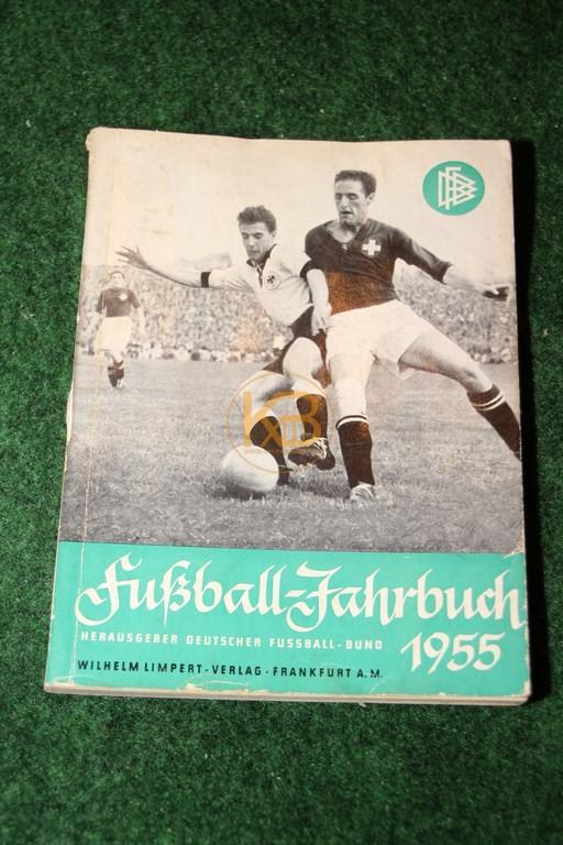 Fussball Jahrbuch 1955 Herausgeber Deutscher Fußballbund
