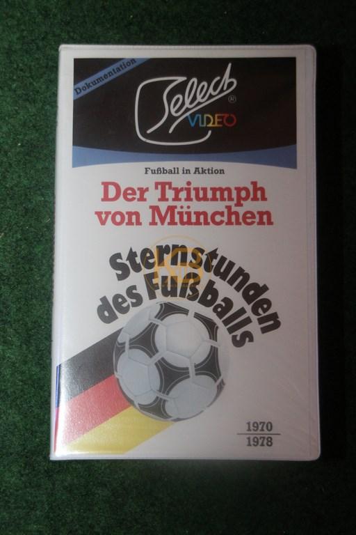 VHS Sternstunden des Fußballs Der Triumph von München