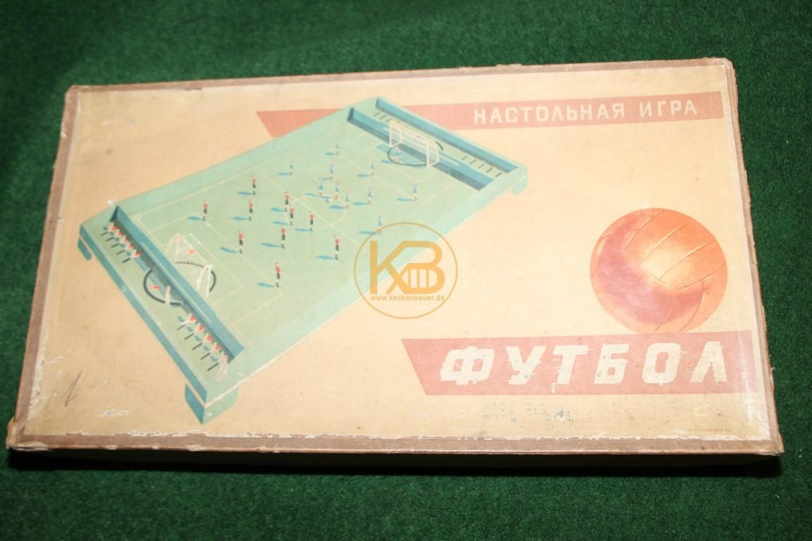 Altes russisches Fussballspiel ca. aus den 1960ern.