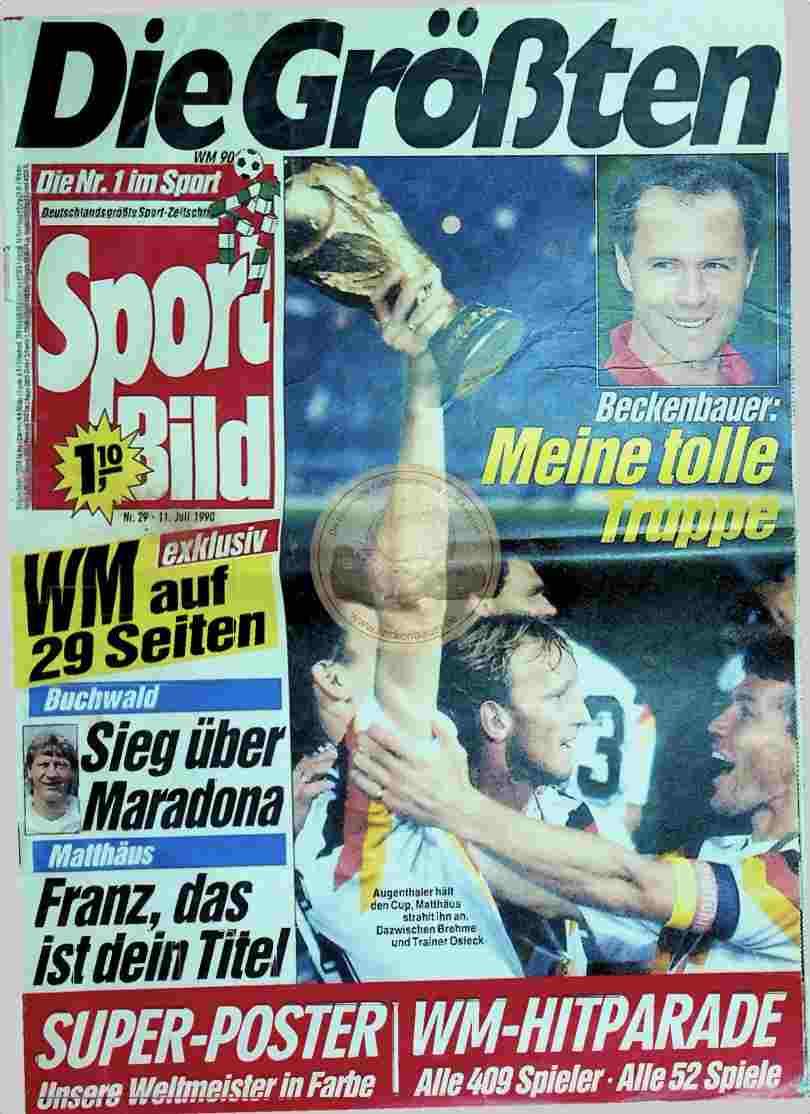 1990 Juli 11. Sportbild Nr.29