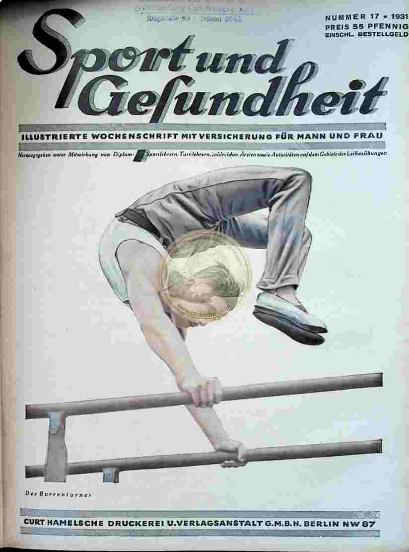 1931 Sport und Gesundheit Nr.17