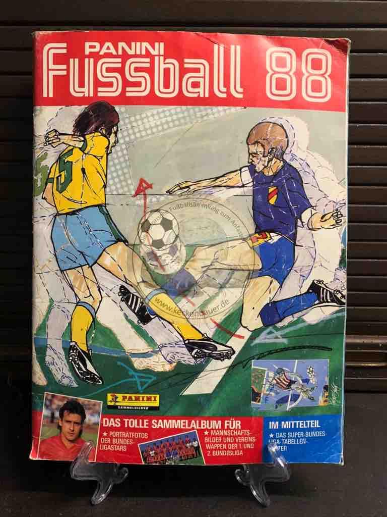 Panini Fussball Album 88
