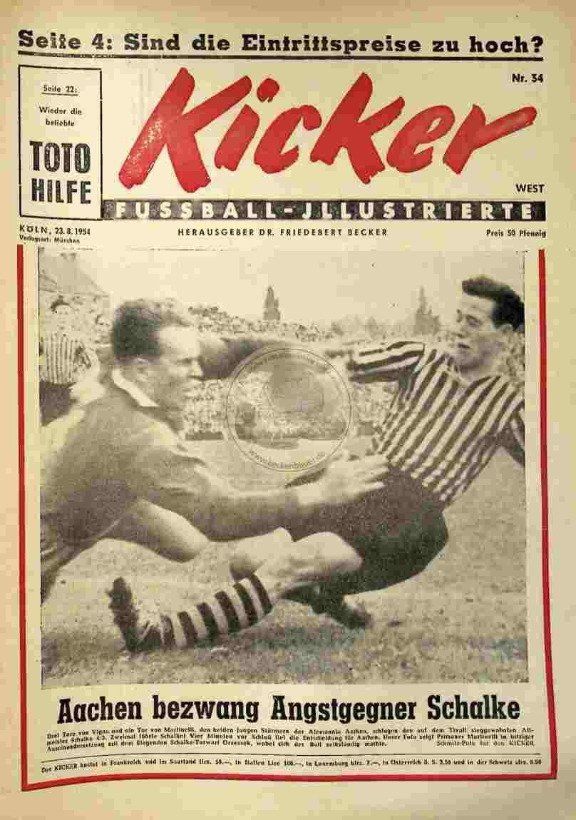 1954 August 23. Kicker Nr.34