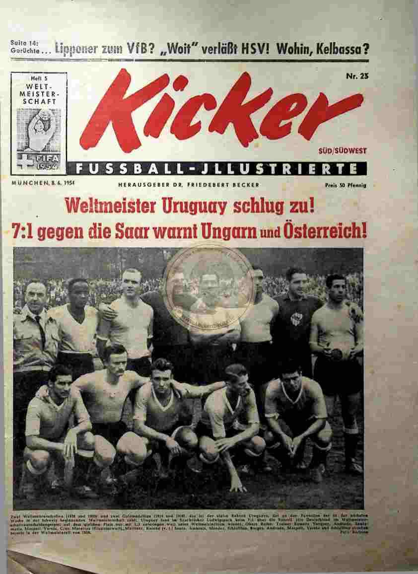 1954 Juni 8. Kicker Nr. 23