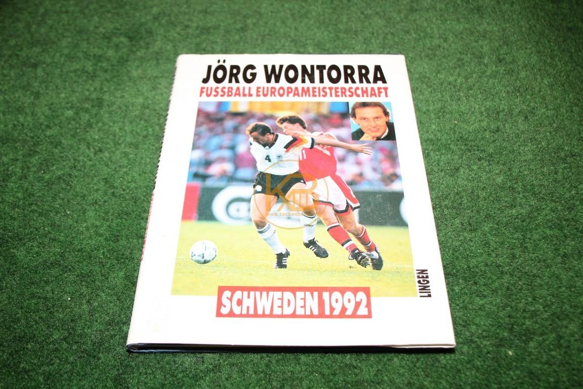 Jörg Wontorra Fußball Europameisterschaft Schweden 1992 vom Lingen Verlag.