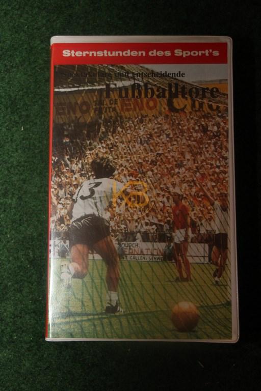 VHS Sternstunden des Sports Fußballtore Teil 2