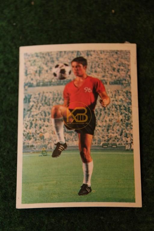 Bergmann Sammelbild von Peter Loof Hannover 96 Saison 68/69.