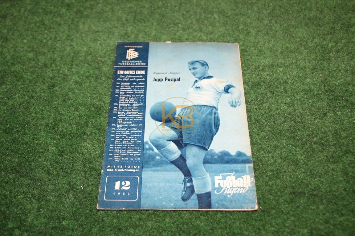 Fußball Jugend Dezember 1953.
