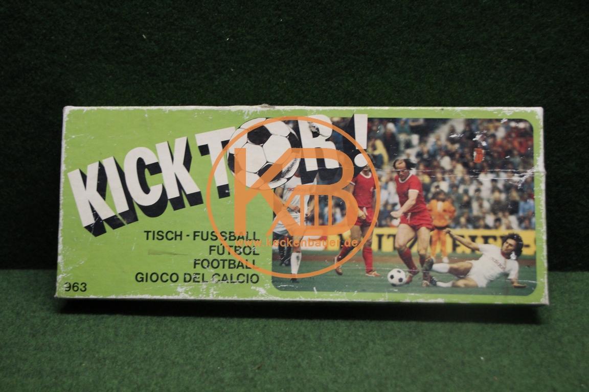 Kick Tor Tisch Fußball Spiel aus den 1970ern