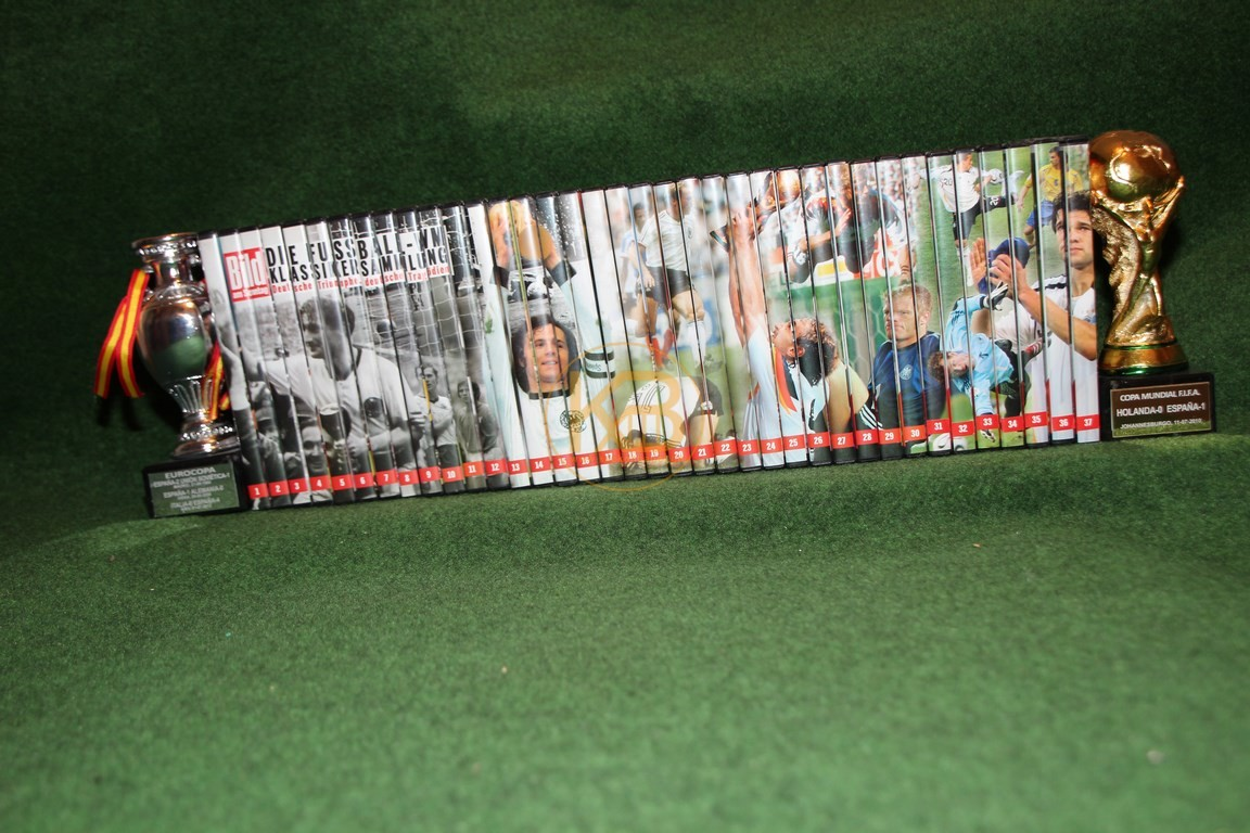 WM Klassikersammlung auf DVD.