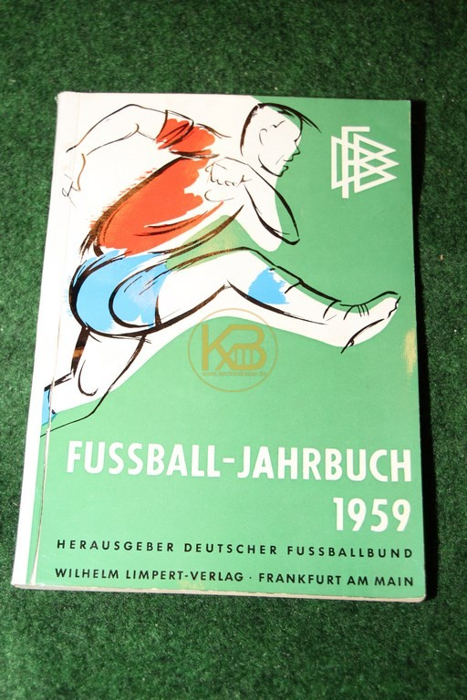 Fußball Jahrbuch 1959 Herausgeber Deutscher Fußballbund