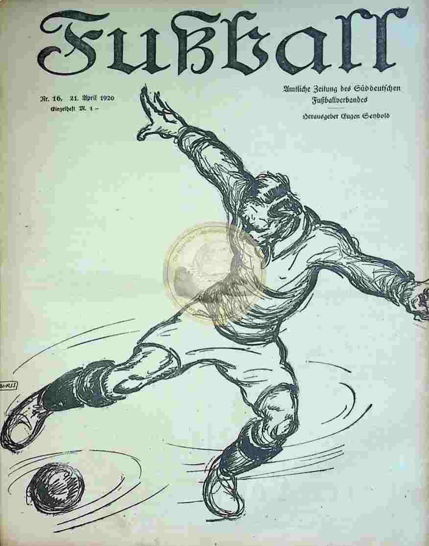 1920 April 21. Fußball Nr.16